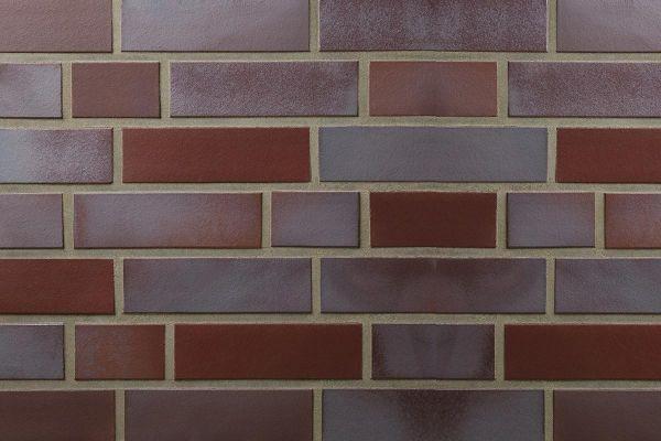 Strangpress-Riemchen BK-R-107-159-NF (Normalformat (NF)) rot (Klinkerriemchen)