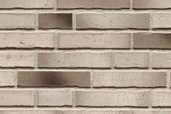 Strangpress-Riemchen BK-R-114-942 (Normalformat (NF)) grau - weiß nuanciert (Klinkerriemchen)