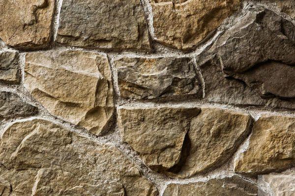 Naturstein-Optik Verblender 123-104-MT-ModF braun, beige - sand nuanciert