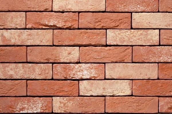 Handform-Klinker-Riemchen BK-R-103-01 rot - beige - bunt Waaldickformat (WDF)