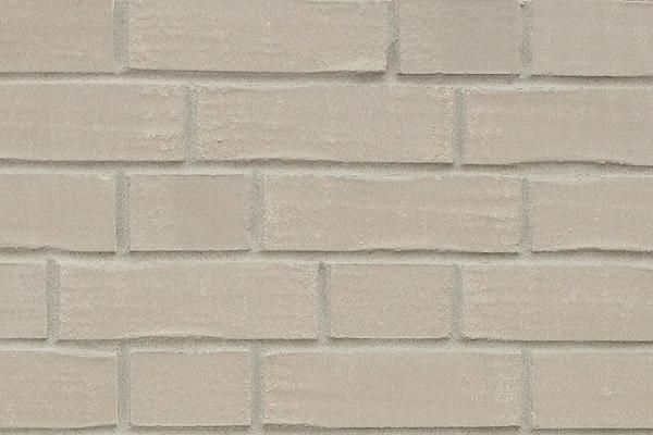 Strangpress-Klinker / Verblender BK-108-173-DF grau nuanciert Dünnformat (DF)