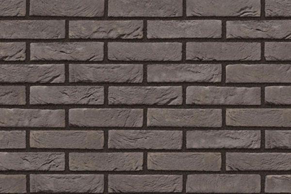 Handform-Riemchen BK-R-103-441 (Waaldickformat (WDF)) grau (Klinkerriemchen)