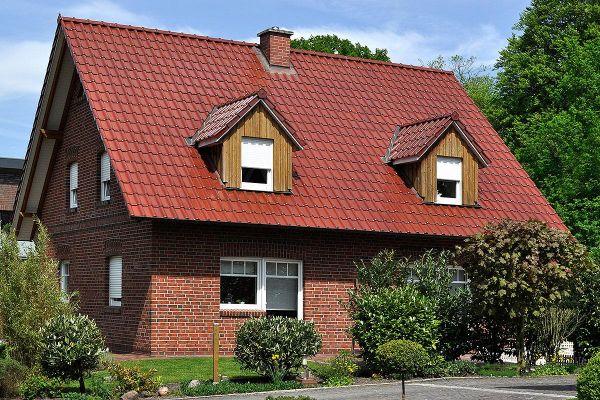Einfamilienhaus  H3 mit Klinker 104-101-NF rot-braun