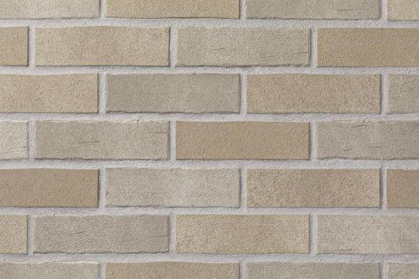 Strangpress-Riemchen BK-R-104-04 (Normalformat (NF)) creme grau (Klinkerriemchen)