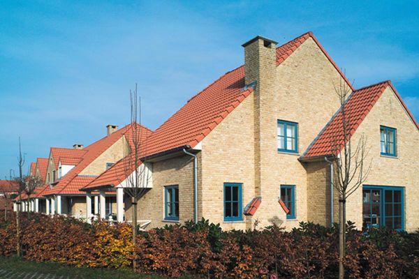 Einfamilienhaus H3 mit Klinker 103-104-WDF gelb-sandfarben
