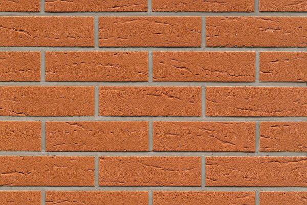 Strangpress-Riemchen BK-R-114-227 (Normalformat (NF)) rot (Klinkerriemchen)