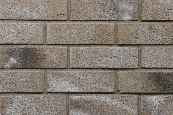 Strangpress-Riemchen BK-R-117-255-WDF (Waaldickformat (WDF)) grau, braun nuanciert (Klinkerriemchen)