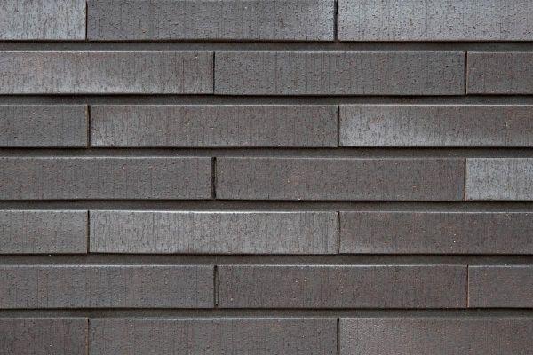 Strangpress-Klinker / Verblender BK-108-130-NF (Normalformat-Klinkerstein (NF)) schwarz-grau