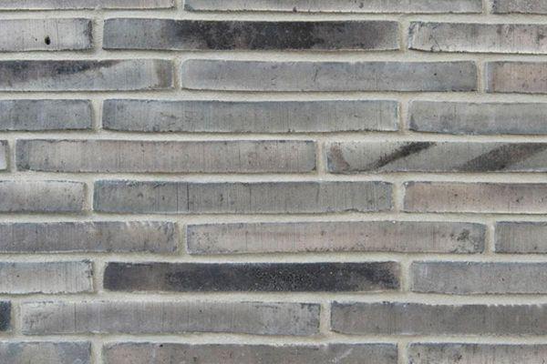 Handform-Klinker / Verblender BK-113-114-ModF (Modulformat-Klinkerstein (ModF)) grau - anthrazit