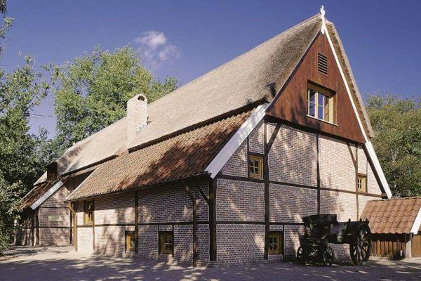 Landhaus H1 mit Klinker 103-168-WDF beige - rot