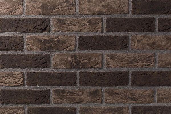 Handform-Klinker / Verblender BK-105-120-WDF (Waaldickformat-Klinkerstein (WDF)) beige - braun - bunt