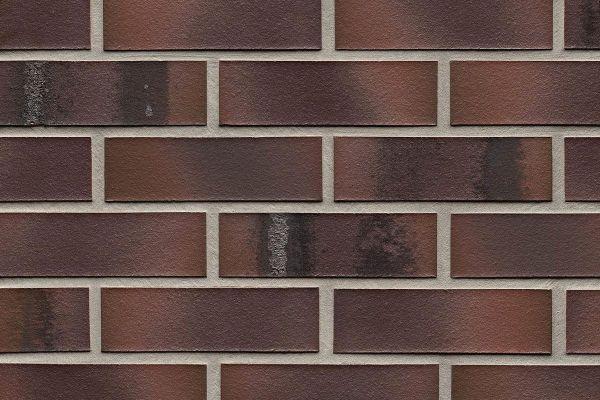 Strangpress-Riemchen BK-R-114-561 (Normalformat (NF)) rot - bunt nuanciert (Klinkerriemchen)