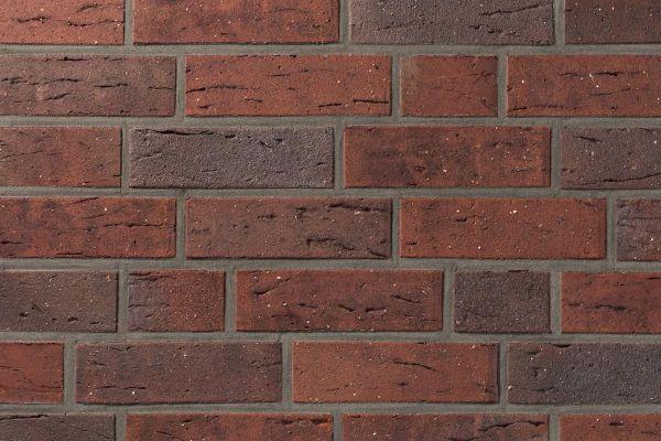 Strangpress-Klinker / Verblender BK-110-106-NF (Normalformat (NF)) rot - blau - bunt