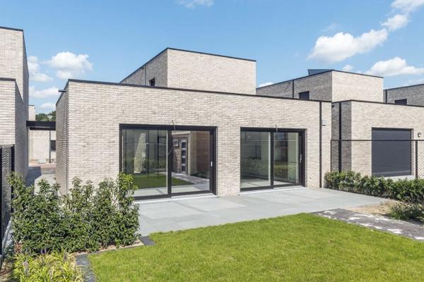Bauhaus / Luxusvilla H1 mit Klinker 103-210-WDF grau
