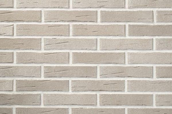 Strangpress-Klinker / Verblender BK-104-136-DF (Dünnformat-Klinkerstein (DF)) grau-beige