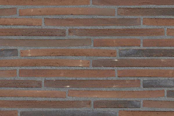 Wasserstrich-Klinker / Verblender BK-122-109-ModF (Modulformat-Klinkerstein (ModF)) rot-bunt, nuanciert