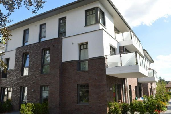 Mehrfamilienhaus  H1 mit Klinker 103-181-NF braun-rot