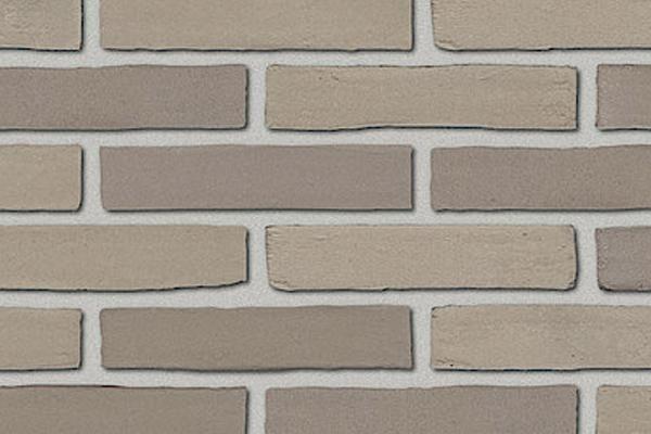 Strangpress-Klinker / Verblender BK-108-172-DF grau-beige Dünnformat (DF)