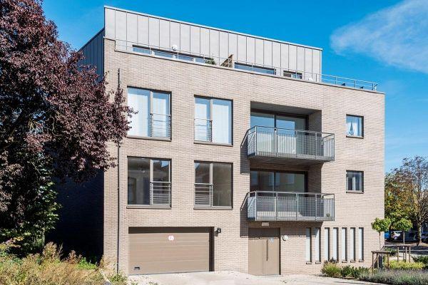 Mehrfamilienhaus mit Klinker 103-151-WDF hellgrau