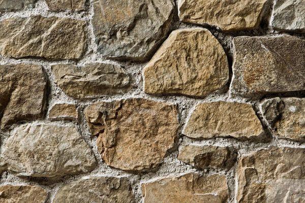 Naturstein-Optik Verblender 123-117-MT-ModF braun, beige - sand nuanciert