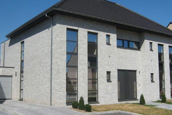 Stadtvilla H2 mit Klinker 103-148-WDF grau
