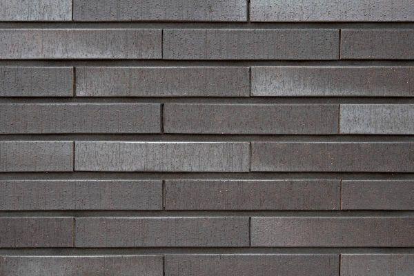 Strangpress-Klinker / Verblender BK-108-101-ModF (Modulformat-Klinkerstein (ModF)) schwarz-grau
