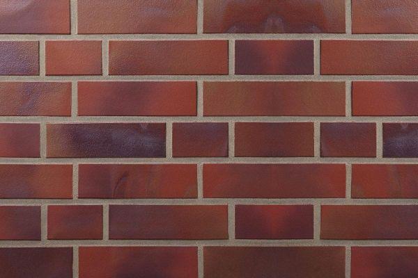 Strangpress-Riemchen BK-R-107-162-NF (Normalformat (NF)) rot nuanciert (Klinkerriemchen)