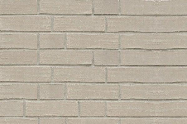 Strangpress-Klinker / Verblender BK-108-173-DF (Dünnformat-Klinkerstein (DF)) grau nuanciert