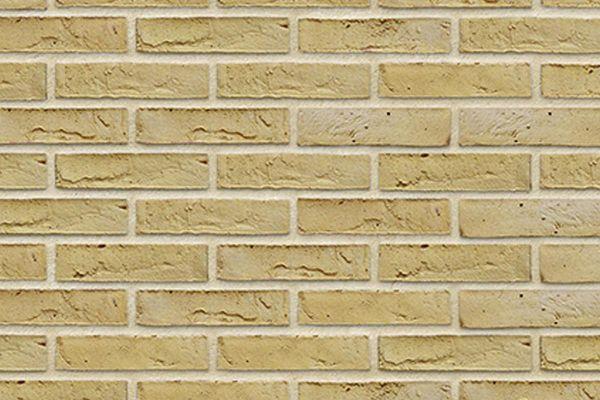 Wasserstrich-Riemchen BK-R-103-304 (Waalformat (WF)) beige -  sand nuanciert (Klinkerriemchen)