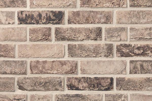 Handform-Klinker / Verblender BK-103-198-NF (Normalformat (NF)) grau - schwarz nuanciert