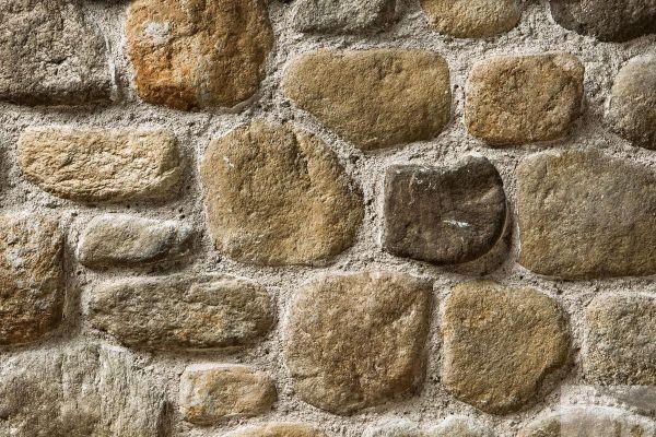 Naturstein-Optik Verblender 123-114-MT-ModF braun, beige - sand nuanciert