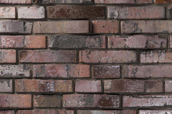Strangpress-Klinker / Verblender BK-116-103-DF (Dünnformat-Klinkerstein (DF)) rot - braun - bunt