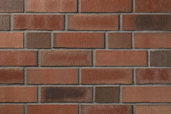 Strangpress-Klinker / Verblender BK-114-110-NF (Normalformat-Klinkerstein (NF)) rot - blau - bunt