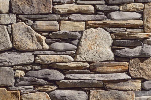 Naturstein-Optik Verblender 123-186-ModF grau, braun, beige - sand nuanciert