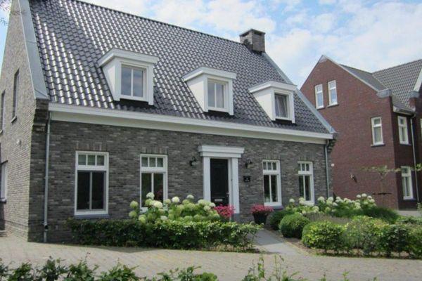 Einfamilienhaus / Landhaus H1 mit Klinker 103-184-WDF grau, beige nuanciert