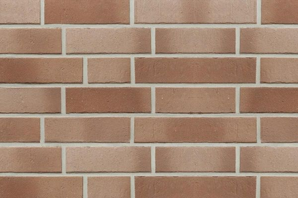 Strangpress-Riemchen BK-R-107-153-NF (Normalformat (NF)) braun nuanciert (Klinkerriemchen)