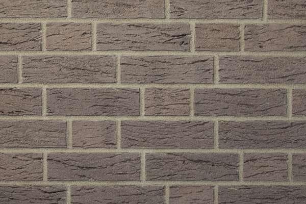 Strangpress-Riemchen BK-R-103-430 (Normalformat (NF)) grau nuanciert (Klinkerriemchen)
