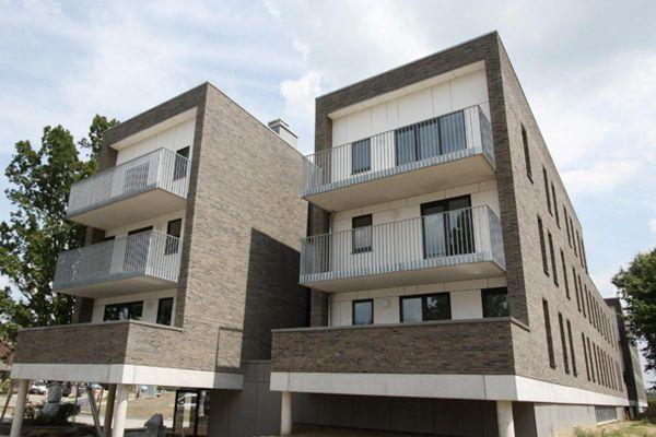 Mehrfamilienhaus  H1 mit Klinker 103-191-WDF beige -grau