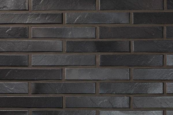Strangpress-Klinker / Verblender BK-108-126-ModF (Modulformat-Klinkerstein (ModF)) schwarz-grau