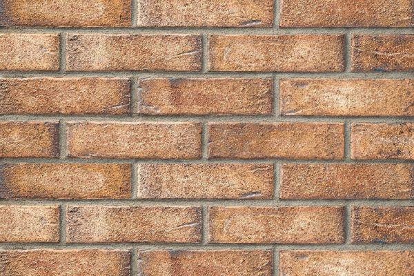 Strangpress-Riemchen BK-R-104-11-NF (Normalformat (NF)) rot beige (Klinkerriemchen)