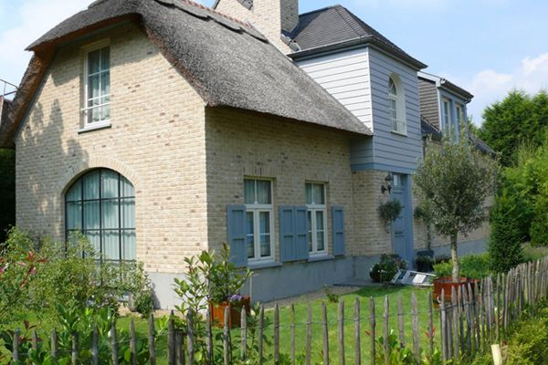 Einfamilienhaus H2 mit Klinker 103-104-WDF gelb-sandfarben