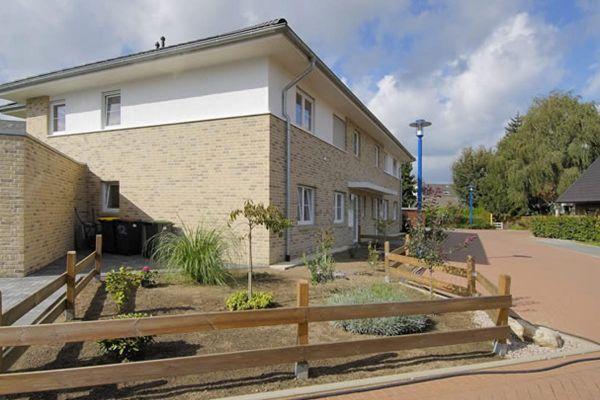 Stadtvilla mit Klinker 103-117-WDF gelb-bunt