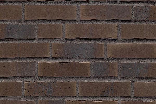 Strangpress-Riemchen BK-R-114-35 (Normalformat (NF)) braun nuanciert (Klinkerriemchen)