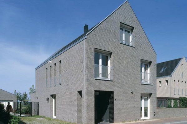 Mehrfamilienhaus H3 mit Klinker 103-155-WDF grau, beige nuanciert