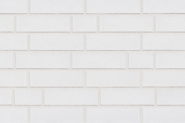 Strangpress-Klinker-Riemchen BK-R-101-01 weiß Normalformat (NF)