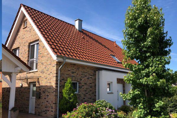 Einfamilienhaus H9 mit Klinker 104-109-NF rot-bunt