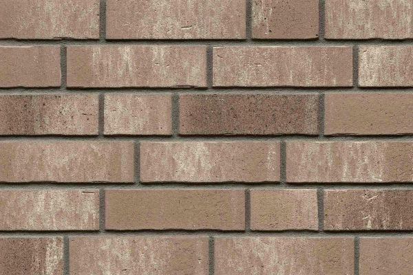 Strangpress-Riemchen BK-R-114-31 (Normalformat (NF)) grau nuanciert (Klinkerriemchen)