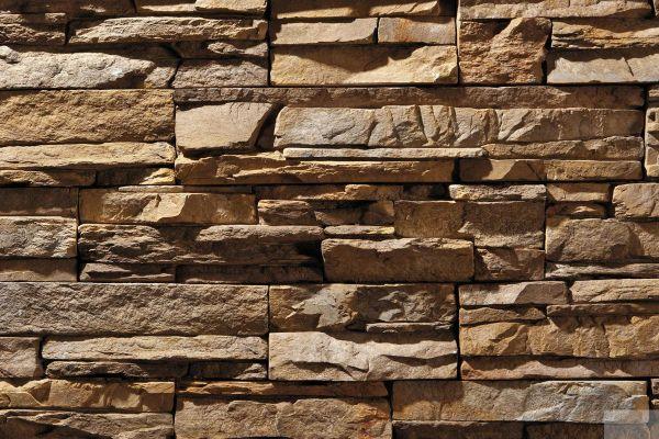 Naturstein-Optik Verblender 123-116-MT-ModF braun, beige - sand nuanciert
