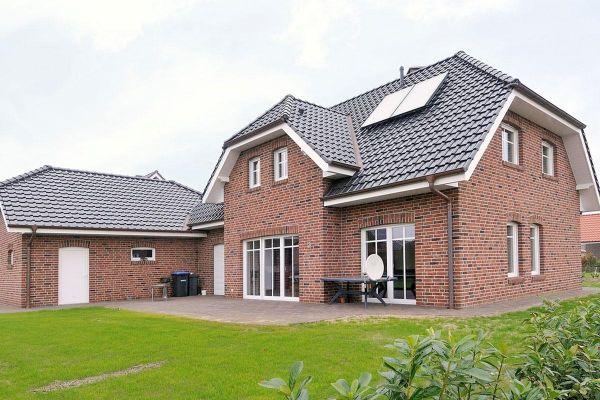 Einfamilienhaus H3 mit Klinker 103-126-WDF rot-bunt