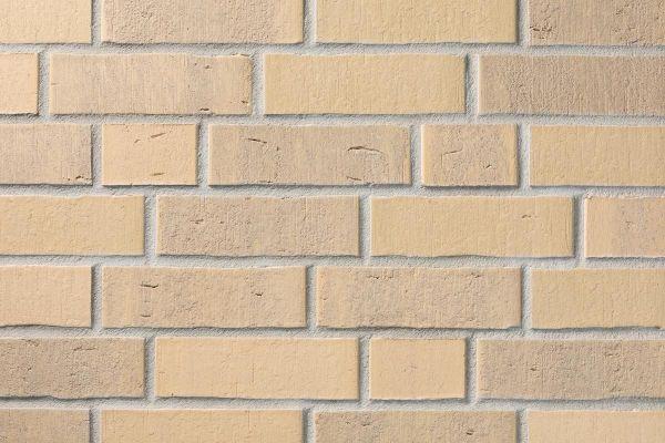 Strangpress-Klinker / Verblender BK-114-105-NF (Normalformat-Klinkerstein (NF)) beige - bunt